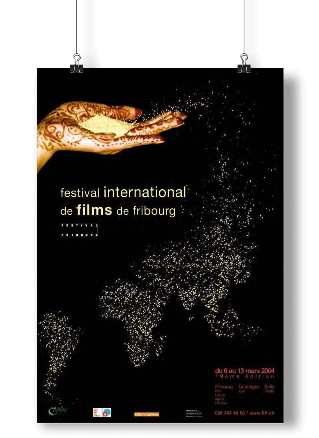 Affiche Festival International de Films de Fribourg