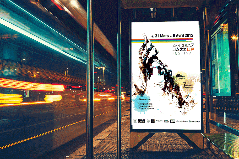 Affiche Avoriaz Jazz Up Festival