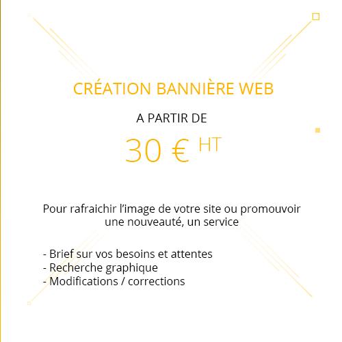 banniere web pulicite digital marketin
