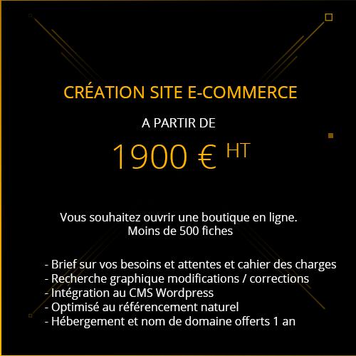 créer se boutique en ligne le site e-commerce